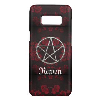 Gothic Eternal Pentacle Red Case-Mate Samsung Galaxy S8 Case
