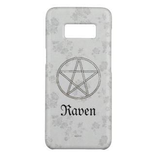 Gothic Eternal Pentacle White Case-Mate Samsung Galaxy S8 Case