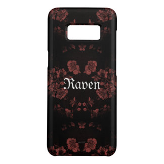 Gothic Eternal *Your Name* Mauve Case-Mate Samsung Galaxy S8 Case