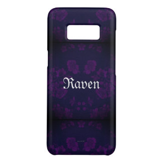 Gothic Eternal *Your Name* Purple Case-Mate Samsung Galaxy S8 Case