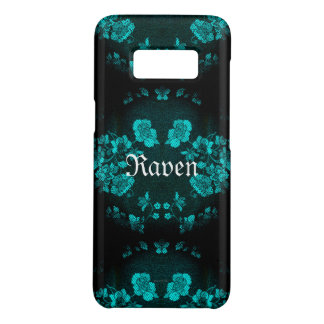 Gothic Eternal *Your Name* Turquoise Case-Mate Samsung Galaxy S8 Case