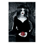 Gothic Eve Art Poster