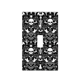 Gothic Everything  Halloween Damask Light Switch Cover