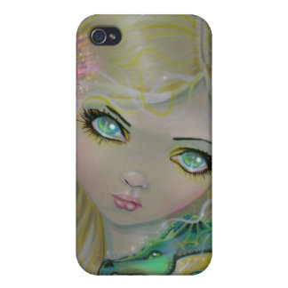 Gothic Fairy and Dragon iPhone Case Covers For iPhone 4