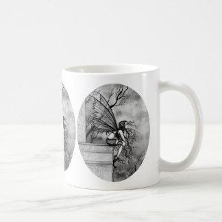 Gothic Fairy Coffee Mug by Molly Harrison