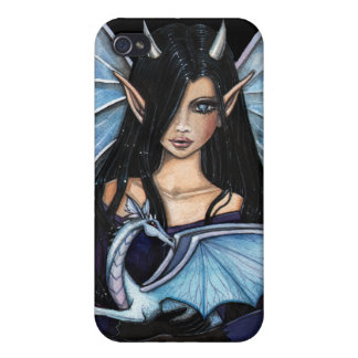 Gothic Fairy Dragon iPhone Case iPhone 4 Covers