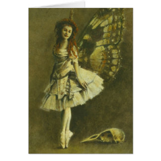 Gothic Fairy Greetings Card