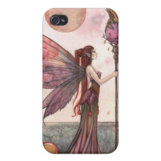 Gothic Fantasy Fairy and Dragon iPhone Case Covers For iPhone 4