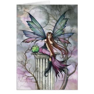 Gothic Fantasy Fairy Art Card