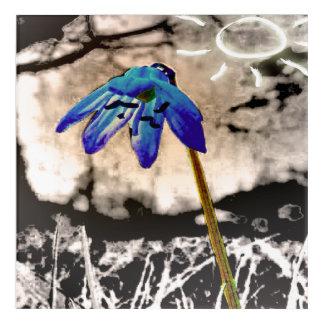 Gothic Flower Acrylic Print