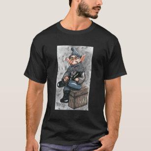 Gothic Garden Gnome T Shirt