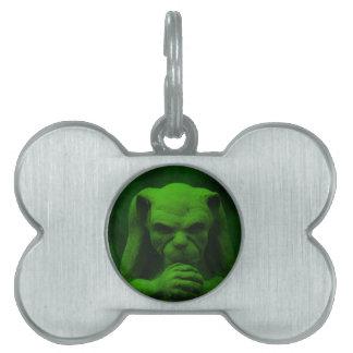 Gothic gargoyle products. pet ID tag