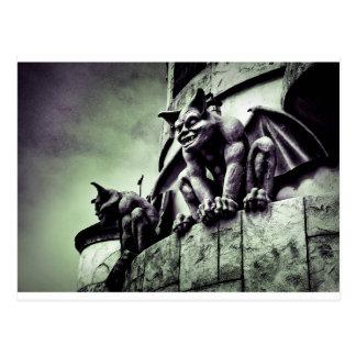 Gothic Gargoyles Postcard