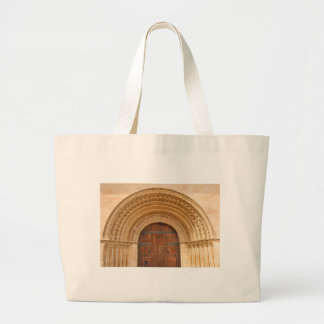 Gothic gate large tote bag
