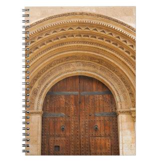 Gothic gate notebooks