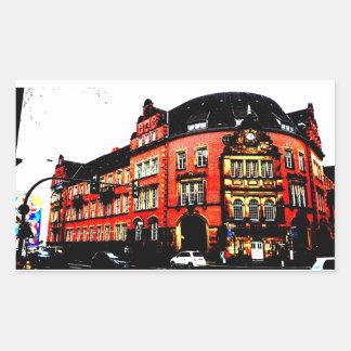 gothic german building mystic view