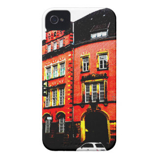 gothic german building mystic view Case-Mate iPhone 4 cases
