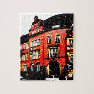 gothic german building mystic view jigsaw puzzle