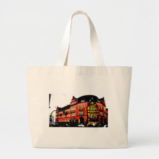 gothic german building mystic view large tote bag