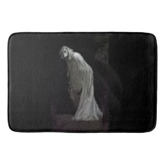 Gothic ghost bath mat