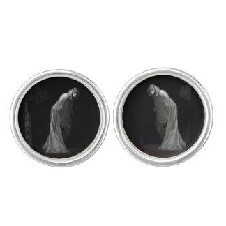 Gothic ghost cufflinks