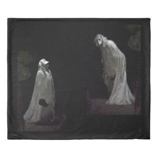 Gothic ghost & ghoul duvet cover