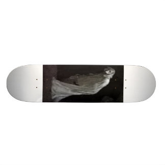 Gothic ghost skate deck