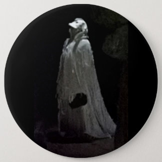 Gothic ghoul button badge