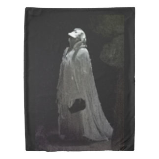 Gothic ghoul duvet cover