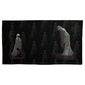 Gothic ghoul & ghost pillowcase