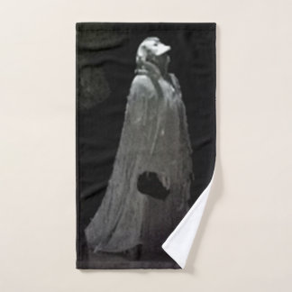 Gothic ghoul hand towel