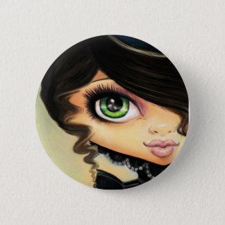 Gothic Girl - Mina 2 Inch Round Button