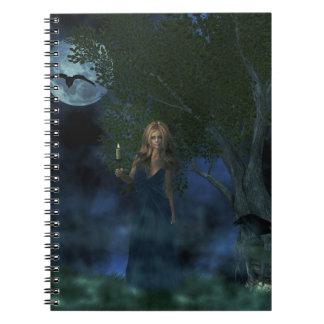 Gothic Girl Notebook
