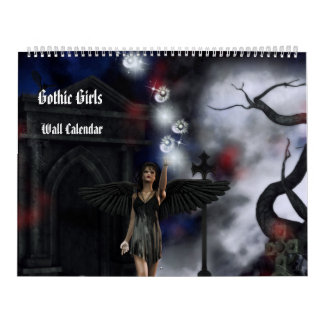 Gothic Girls Fantasy Art Calendar