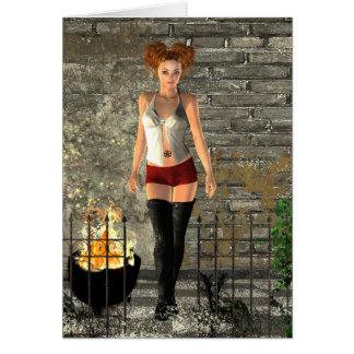 Gothic Girls Urban Magic fantasy Card