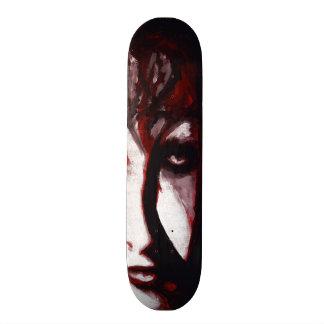 Gothic God Post Punk Goth Original Art Skate Deck