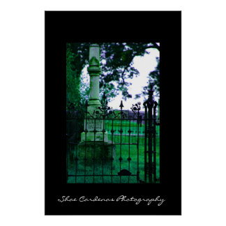 Gothic Grave Poster