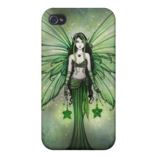 Gothic Green Fairy iPhone Case Cover For iPhone 4