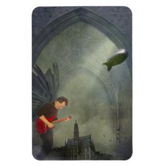 Gothic Guitar Magnet