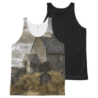 Gothic Halloween photograph All-Over-Print Tank Top