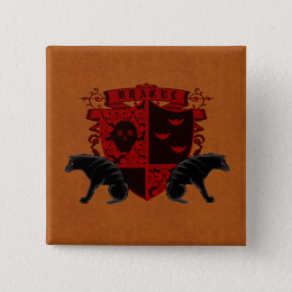 Gothic Heraldry Dracula Coat of Arms Button Flair