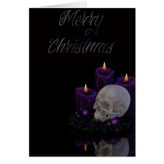 Gothic Holidays - Merry Christmas Card