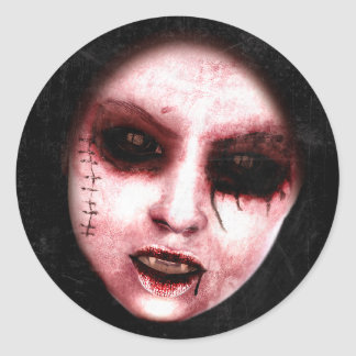 Gothic Horror Art Stickers