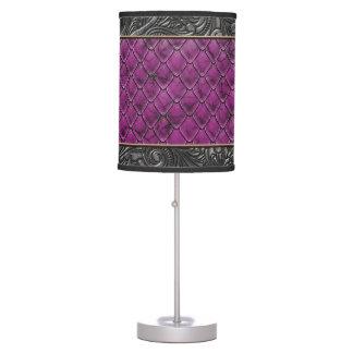 Gothic Killer Fuschia Table Lamp