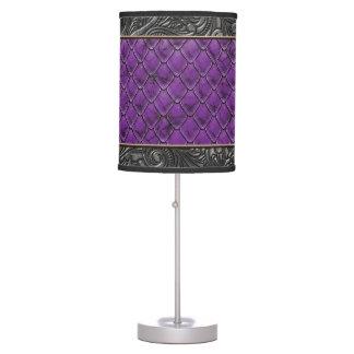 Gothic Killer Purple Table Lamp