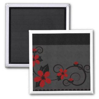 Gothic Kokeshi Kimono Design Magnet