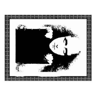 Gothic Lady Postcard