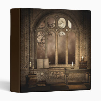 Gothic Library Window Binder