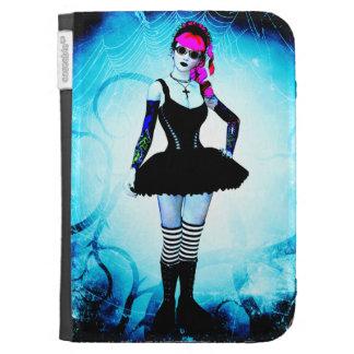 Gothic Lolita Kindle 3rd Gen Caseable Case Kindle Folio Cases