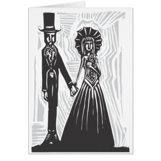 Gothic Marriage Card